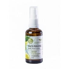 Крем для лица пилинг с АНА-кислотами для нормальной и смешанной кожи 50 мл.
