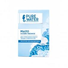 Хозяйственное мыло Pure Water для стирки белья и мытья твердых поверхностей  175 г