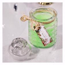 "Аромосвеча Candle Story с хлопковым фитилем, аромат ""Чай со льдом""  260 мл."