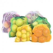 Набор экомешочков 2 шт. (20*25/ 25*30 см.)  (зеленый +желтый)