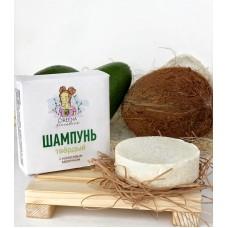 Шампунь для волос твердый с кокосовым молочком для сухой кожи головы 50 гр.
